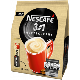 NESCAFE 3in1 Sweet&Creamy Кафе - 17 g - 1 бр.