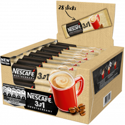NESCAFE 3in1 Sweet&Creamy Кафе - 17 g - 28 бр.