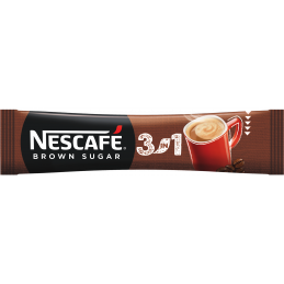 NESCAFE 3in1 Brown Sugar Кафе - 16.5 g - 1 бр.