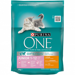 PURINA ONE JUNIOR за малки...