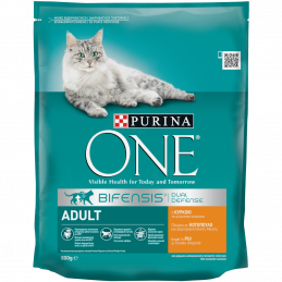 PURINA ONE ADULT с пиле 800 гр