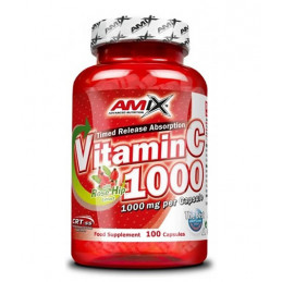 AMIX Vitamin C /with Rose Hips/ 1000mg. / 100 Caps.